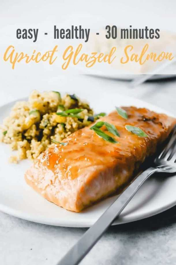 apricot glaze for salmon - pinterest