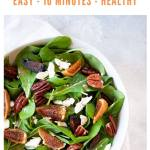 pinterest - arugula salad