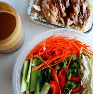 Peanut Chicken Salad | anutritionisteats.com