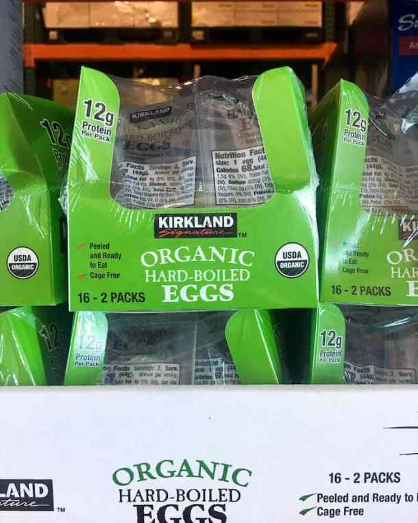 healthy snacks costco - hard boiled eggs