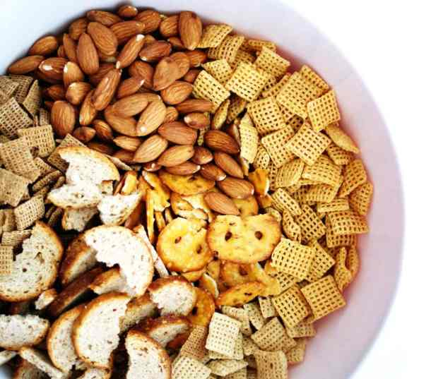 Ranch Chex Mix with Dill