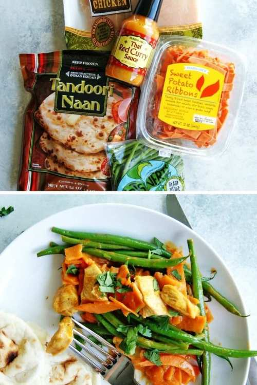 easy trader joe's recipe chicken curry
