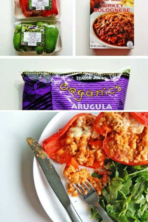 easy trader joes recipe stuffed peppers