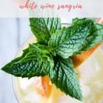 white wine sangria recipe