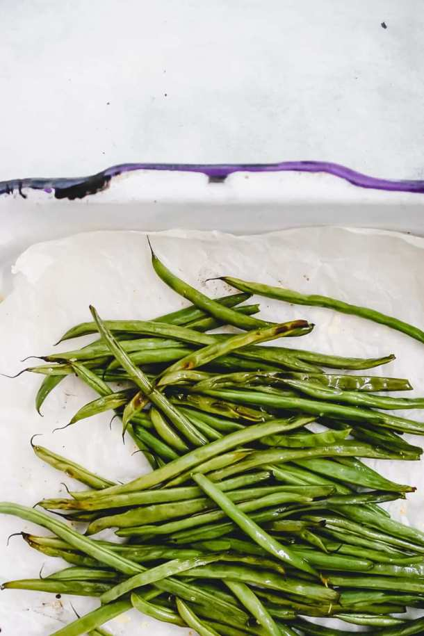 roasted french green beans recipe