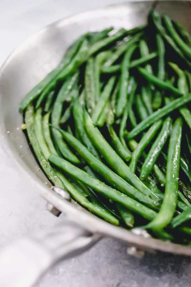 sauteed french green beans recipe