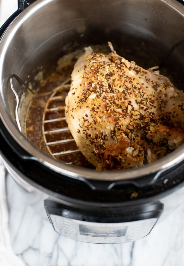 turkey breast instant pot after cooking