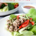 larb recipe - pinterest