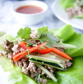 larb recipe with lettuce wraps