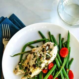 low carb lemon butter chicken | anutritionisteats.com