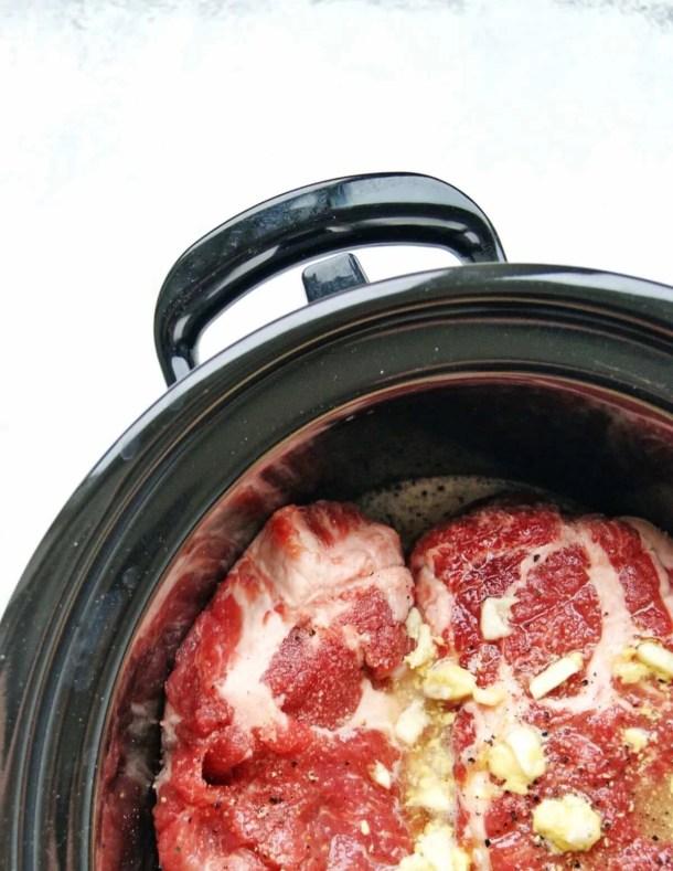 slow cooker honey pork