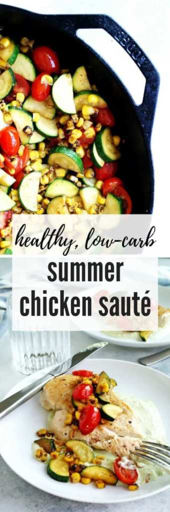 Summer Chicken Sauté