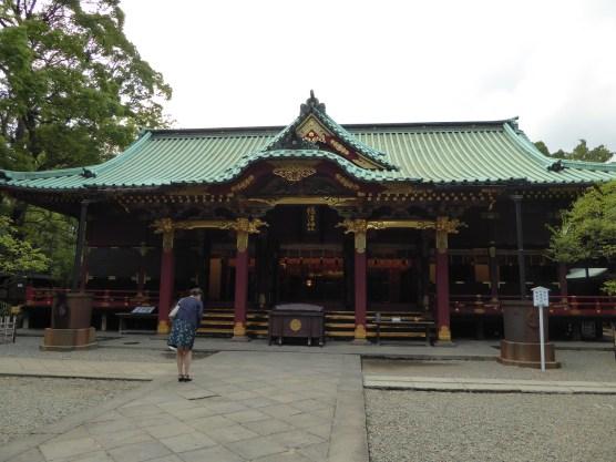 Main Hall of Nezu Shrine (Hai-den)