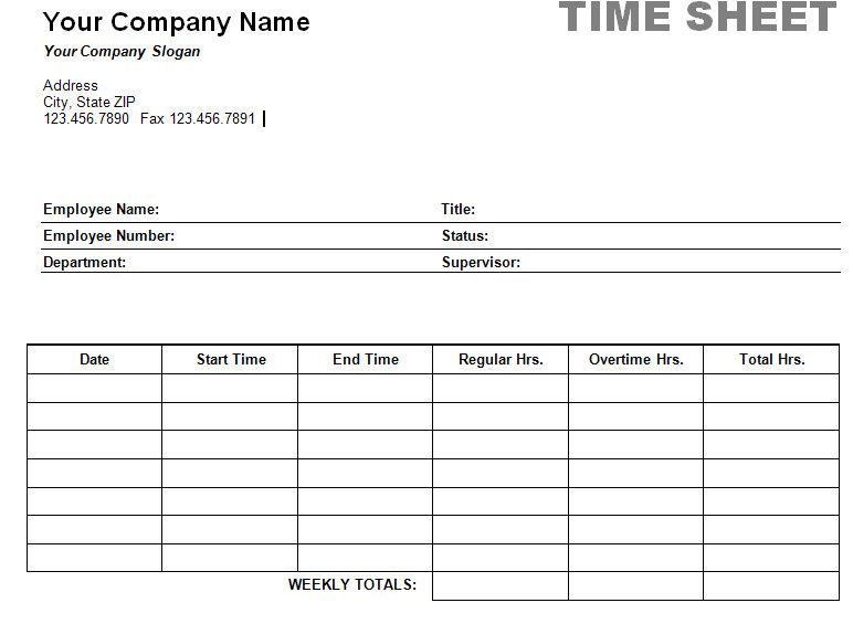 Worksheet Timesheet Worksheet monthly time sheet template employee stock vector grounder best printable timesheet print
