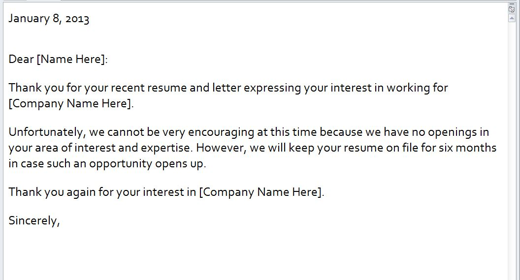 cover letter sample job cover letter non