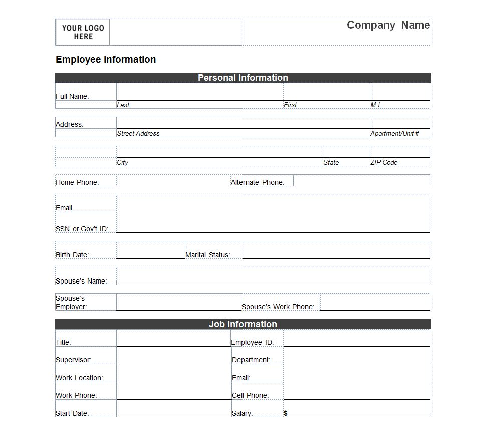 employee form employee sheet the client templates and stencils on – Contact Info Sheet Template