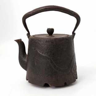 bouilloire, fonte, époque Edo