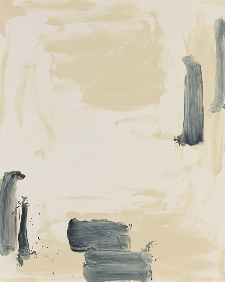 Lee Ufan, With winds, 1990