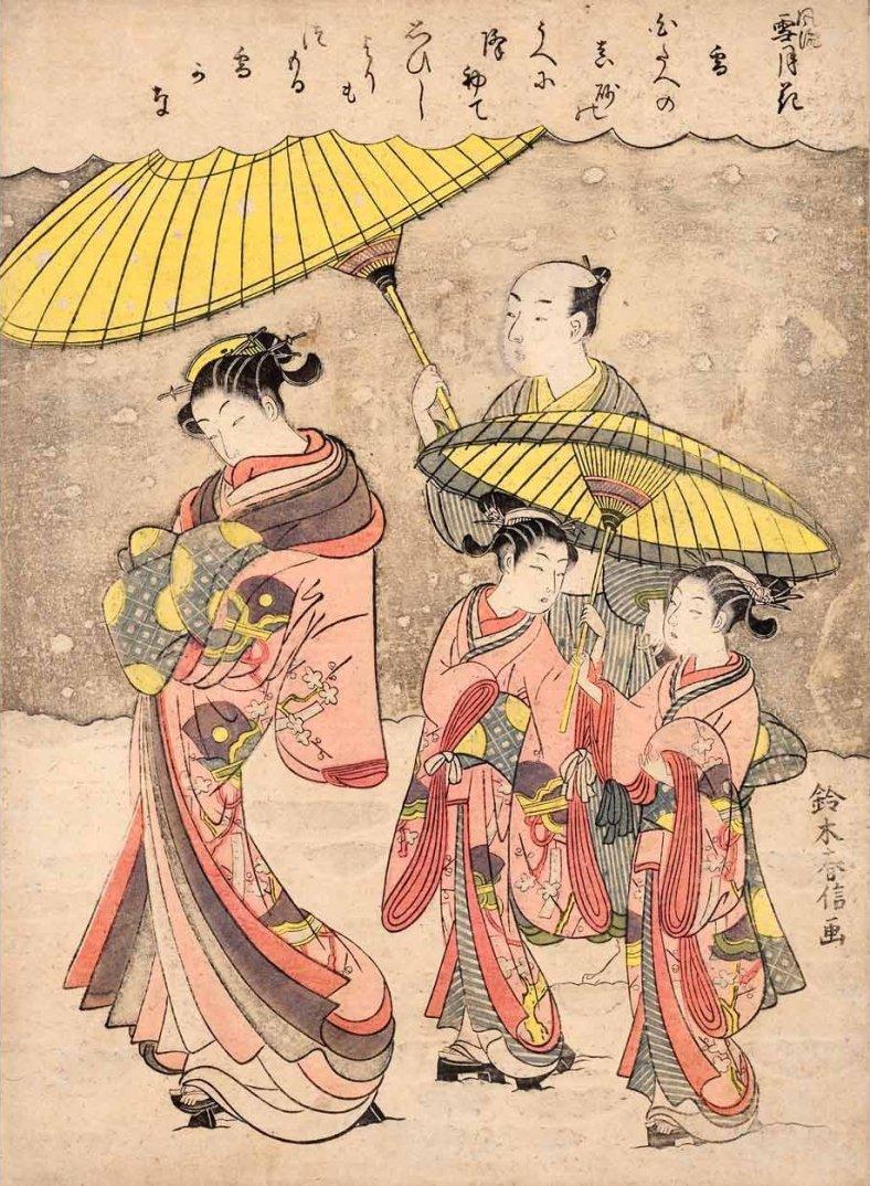 Suzuki_Harunobu_-_Snow_(Yuki)_From_the_series_Elegant_Snow,_Moon_and_Flowers_(Furyu_Setsugekka),_1769