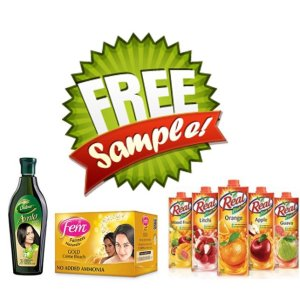 Get Free Samples of any Dabur Products