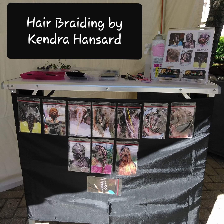 Hair Braiding Station