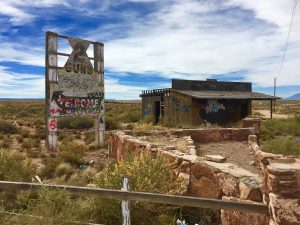 "The cool ""Ghost Town"" of Two Guns"