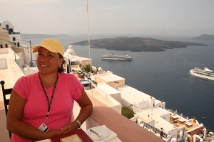 Our Return to Santorini
