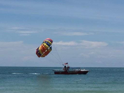 Parasail at Cenang Beach