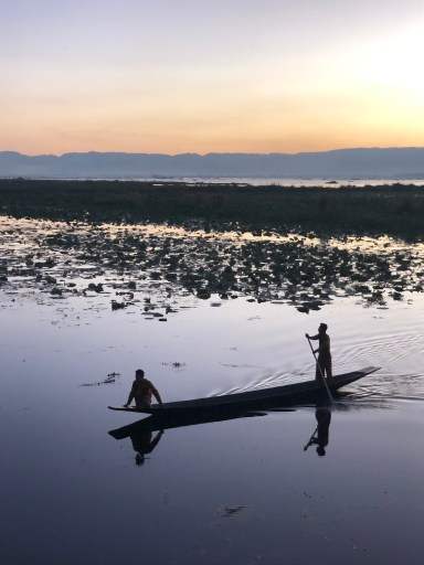 Boats of Inle Lake Myanmar
