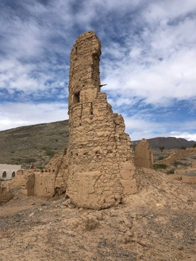 The ruins of Tanuf Oman