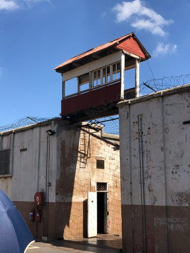 Guard tower at Prison #4