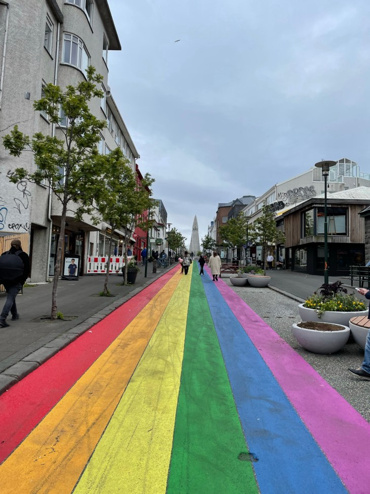 Reykjavik on foot