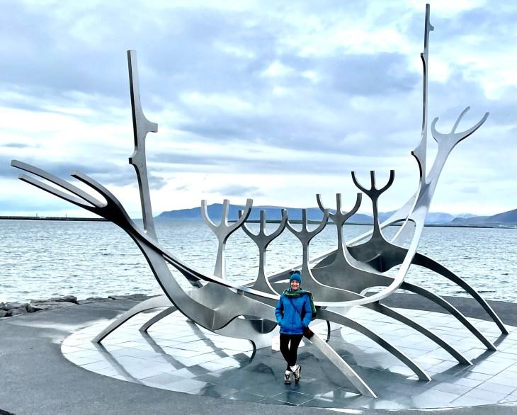Viking Ship Sculpture