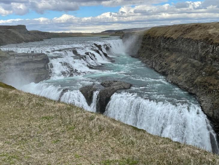 Icelands famous gullfoss