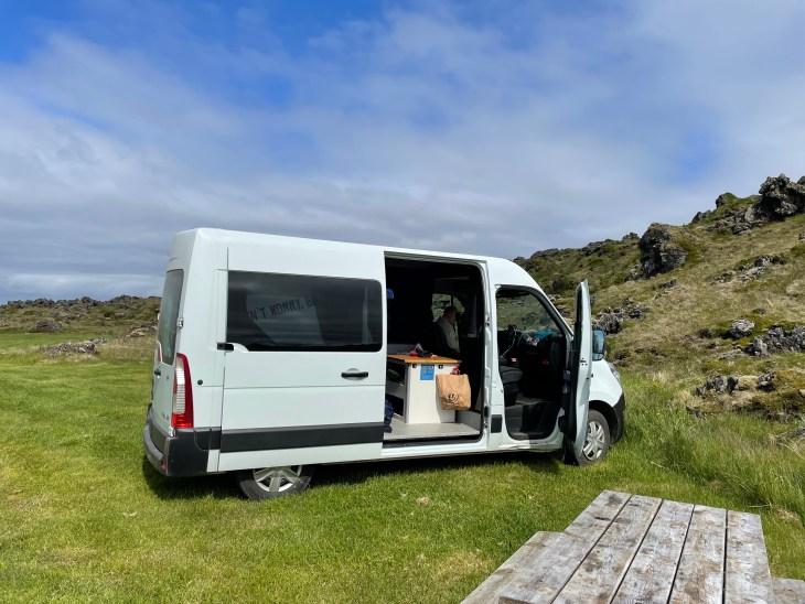 Camper Van in Iceland