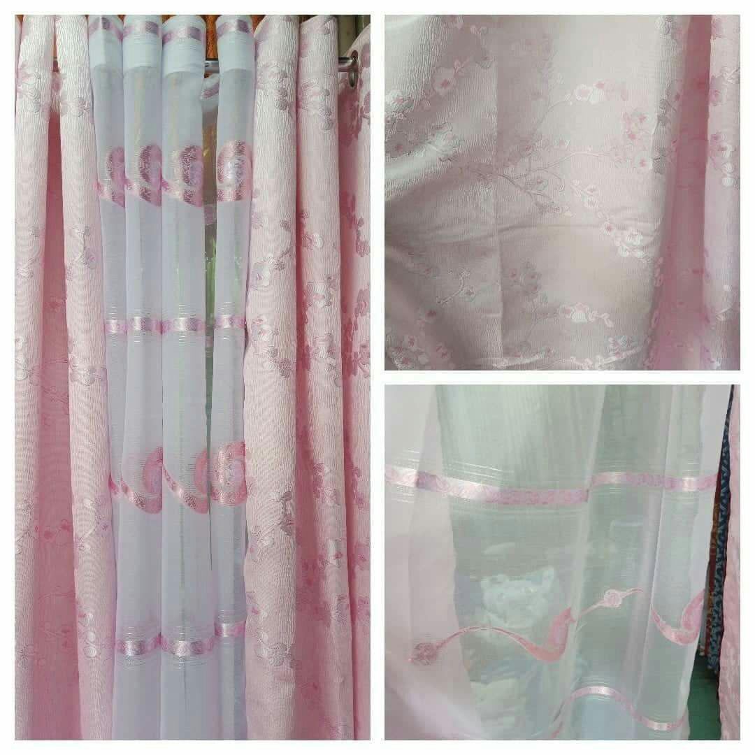 ph oregary sheer fabric for curtains