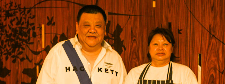 Mr Jefri and Chef Mary Selesa Restaurant