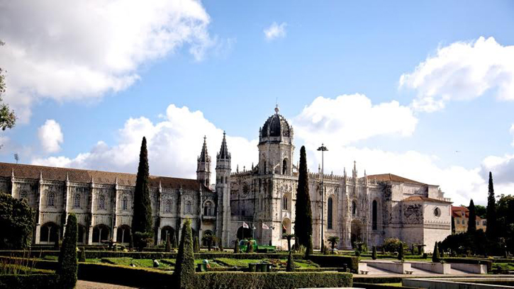 Jeronimos Monastery - it is said that the Portuguese food icon – the egg tart originated from here.
