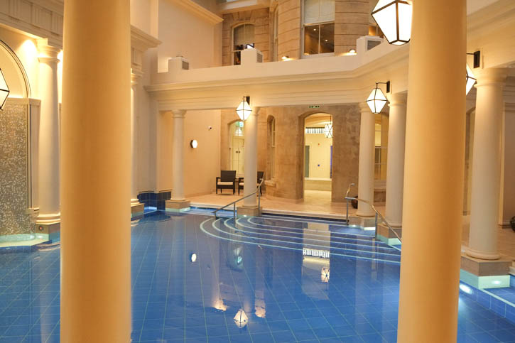 View of the Main Pool in the Spa