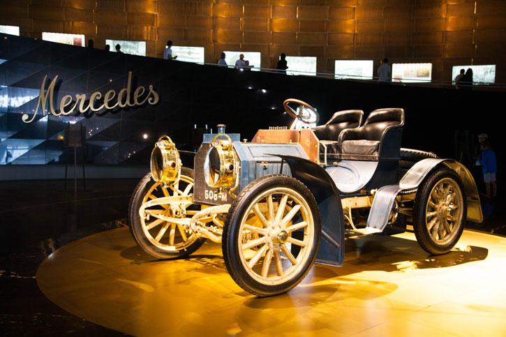 The first Mercedes Benz model.