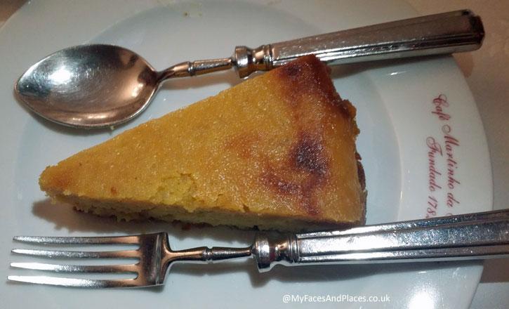 Martinho da Arcada - Portuguese Orange tart