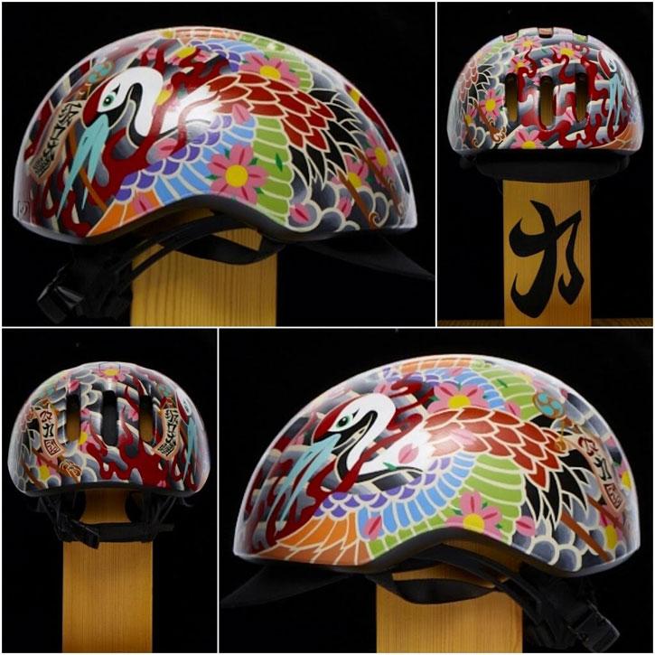 """Daisuke Sakaguchi's Four Views of the """"Chikara"""" Helmet"""