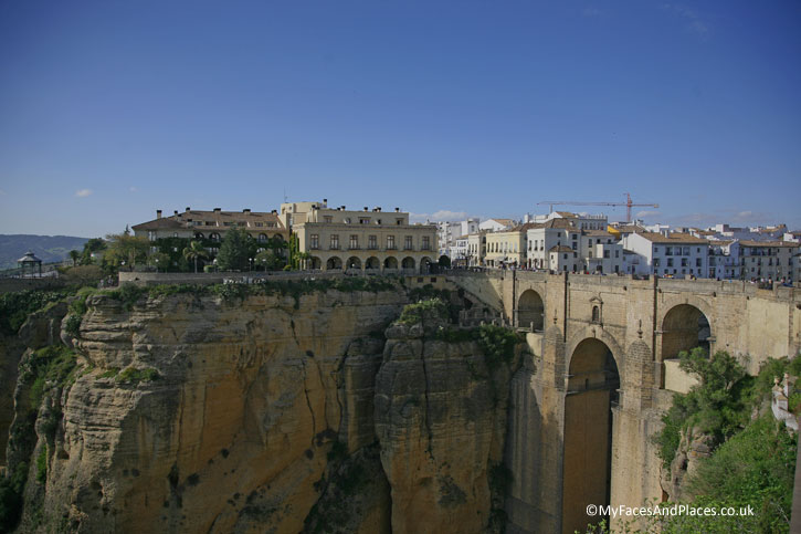 Puente Neuvo The New Bridge of Ronda.