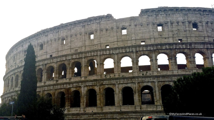 The Colusseum in Rome