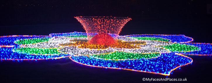 Festival of Light at Longleat Safari Park