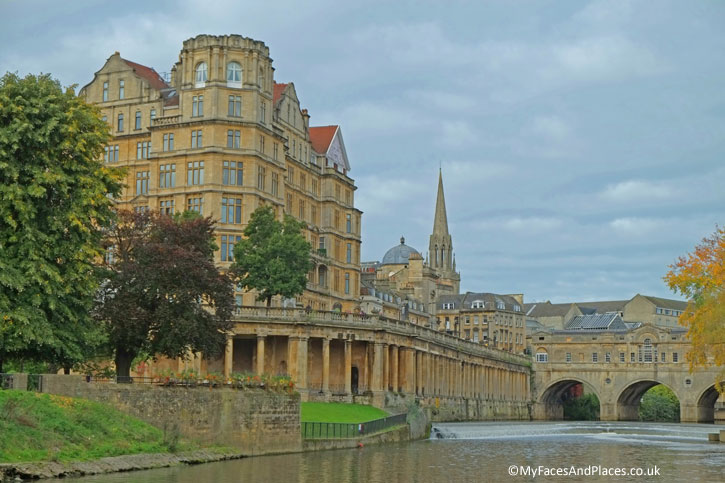 Bath Town and River