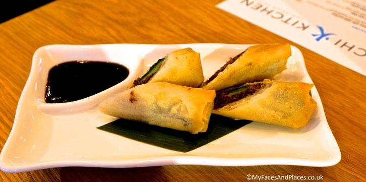 Spring Roll with Aromatic Duck