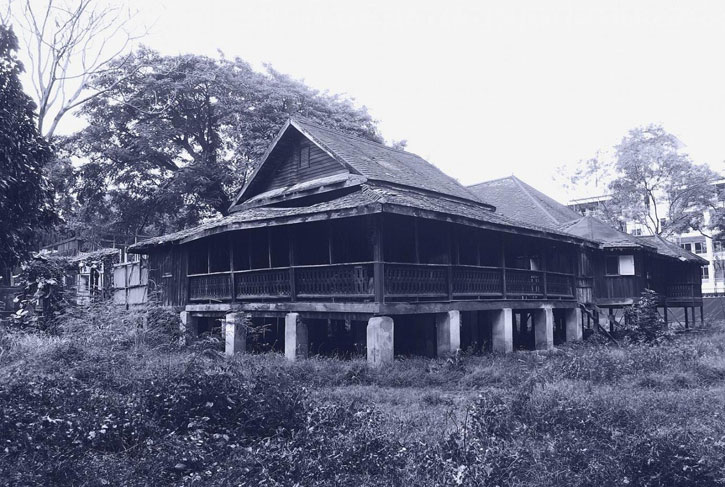 The original Baan Borneo before renovation– image courtesy of 137 Pillars House