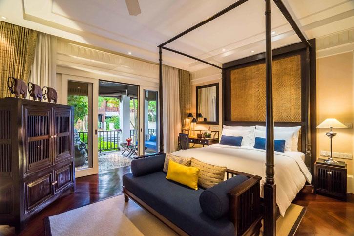 The sumptuous Rajah Brooke suite in 137 Pillars House
