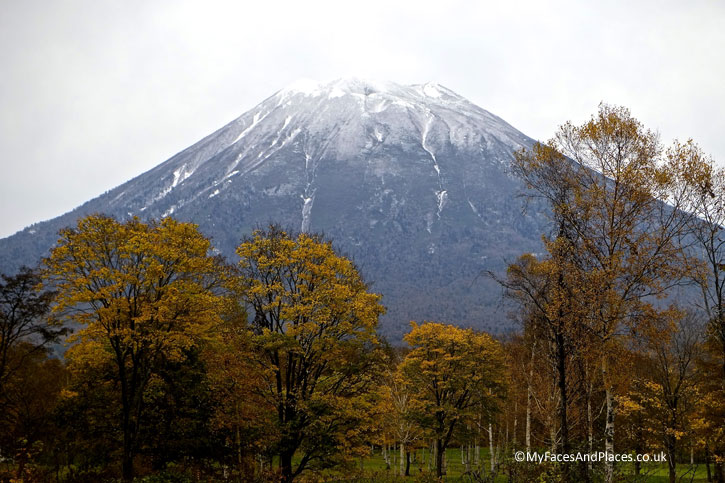 Mt Yotei also known as the Mt Fuji of Hokkaido - Autumn in Niseko